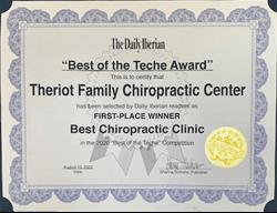Chiropractic in New Iberia Best of the Teche 2020 Best Chiropractic Clinic